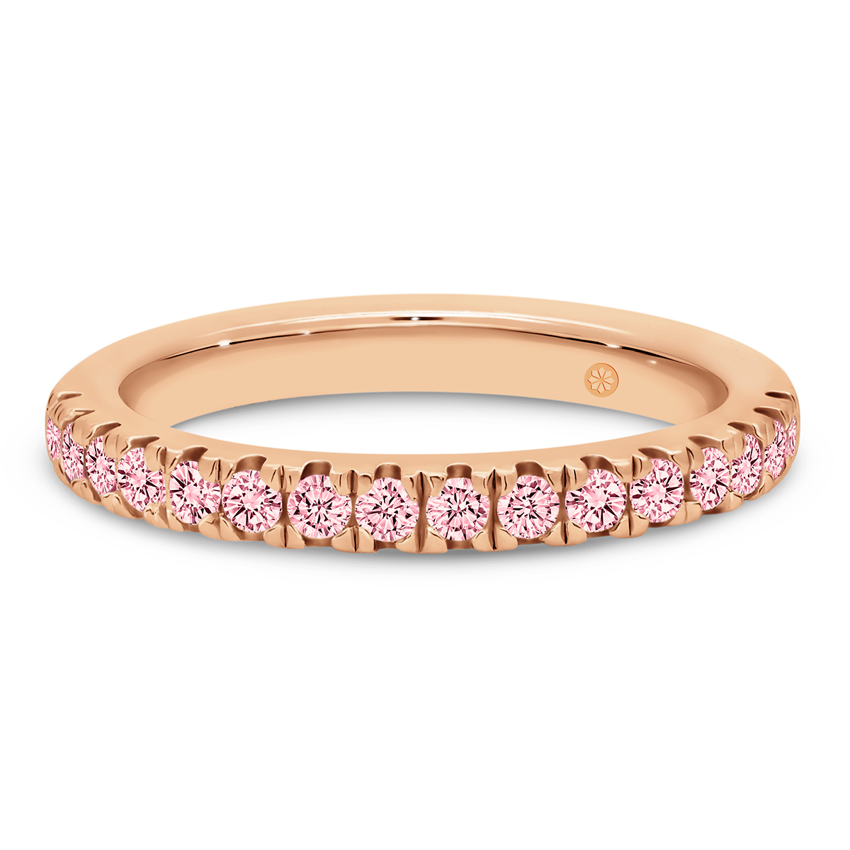Rosanna 1.7 lab-grown pink diamond ring