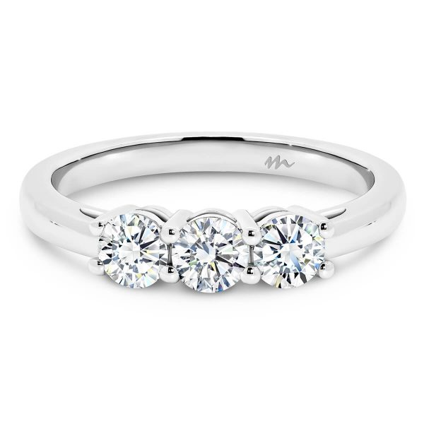 Emily Moissanite engagement ring