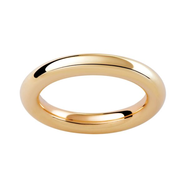 RP plain rounded band with polish finish