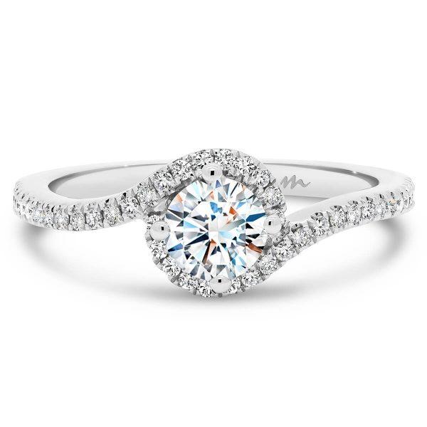 Sarah Moissanite engagement ring