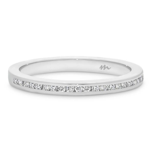 Carmen 1.1 channel set Moissanite half band