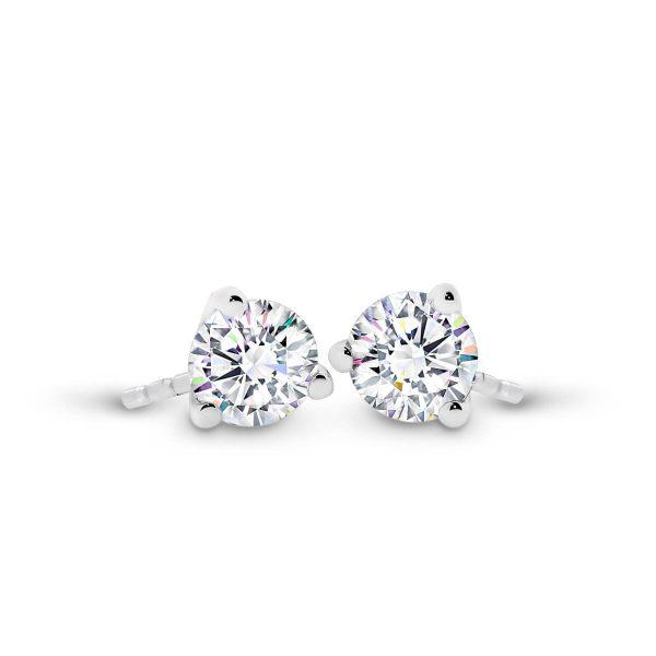 Martina 3.0 solitaire diamond earrings