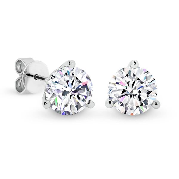 Martina 4.5 half carat diamond earrings with martini setting