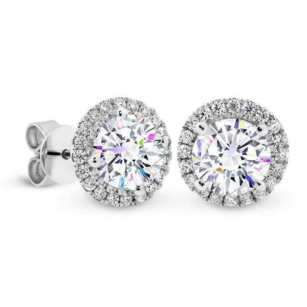 Rosetta 6.5 vintage diamond studearrings
