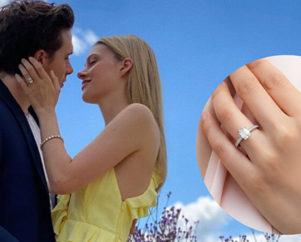 Brooklyn Beckham shares a sneak peek of his engagement ring