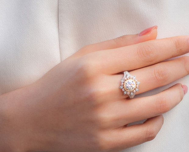 Our new designs from our Pink Lab-Grown Diamond Collection