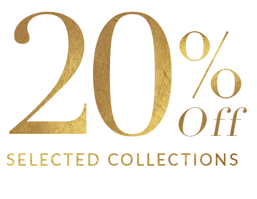 20% off selected collections