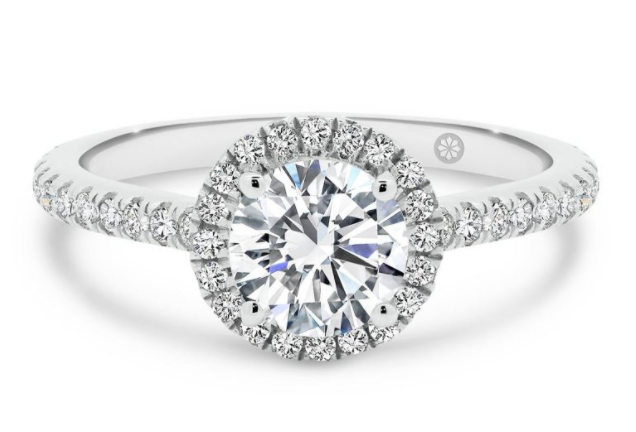 Avalon Lab grown diamond engagement ring